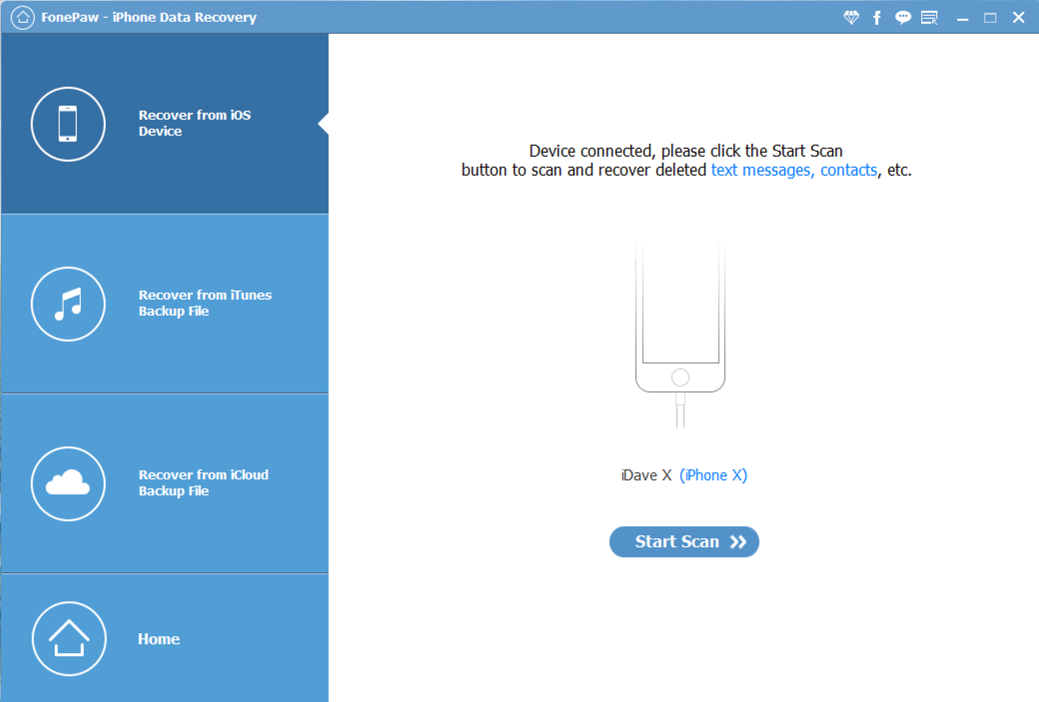 Recover iPhone Data with FonePaw for Windows & Mac - Ask