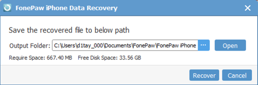 fonepaw ios system recovery online