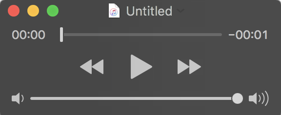 audio recording from quicktime player macos x