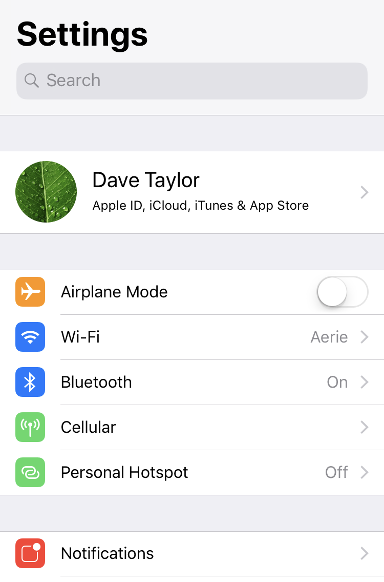 How do I use my Apple iPhone as a WiFi Hotspot? - Ask Dave