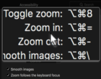 mac macos accessibility zoom magnify magnification window