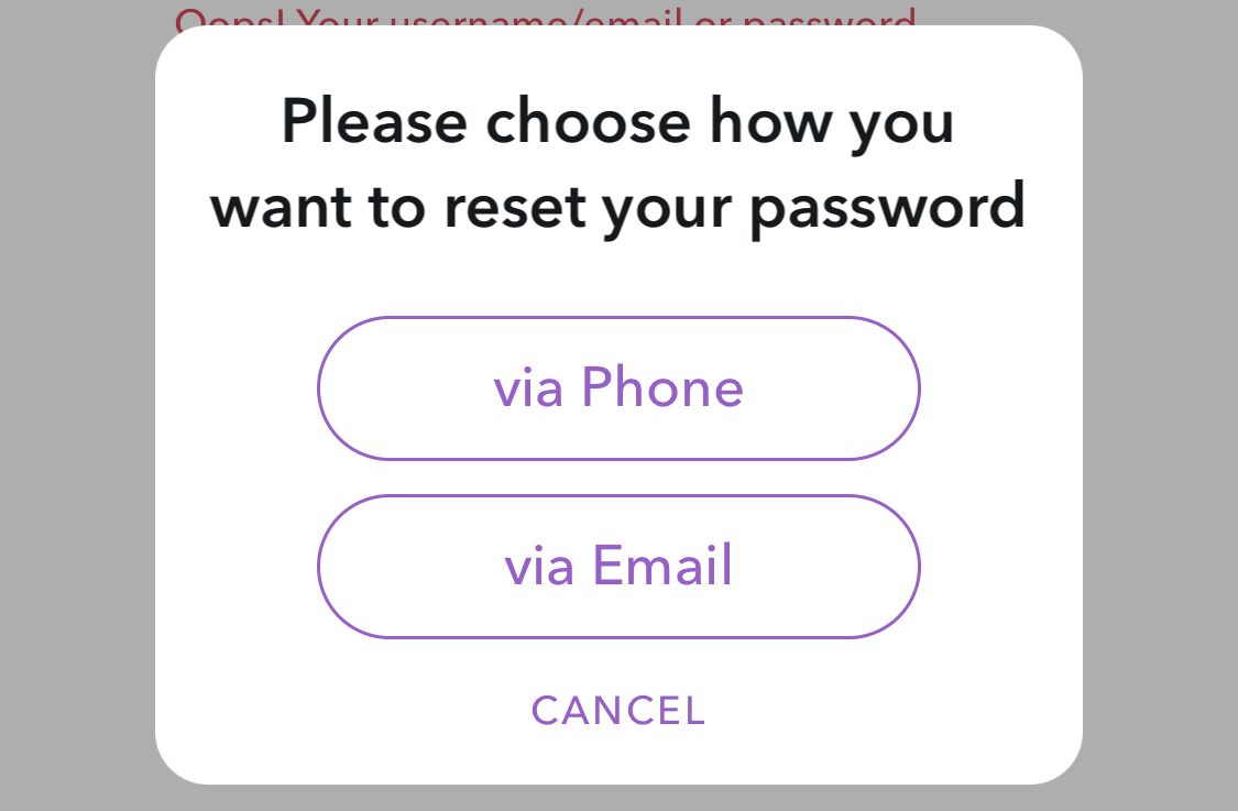 How do I reset the Snapchat password that I forgot? - Ask