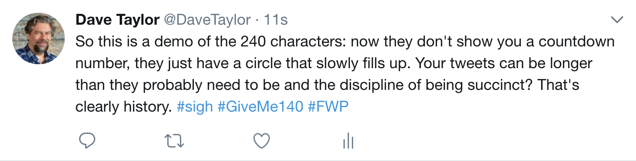 twitter tweet with more than 140 characters longer