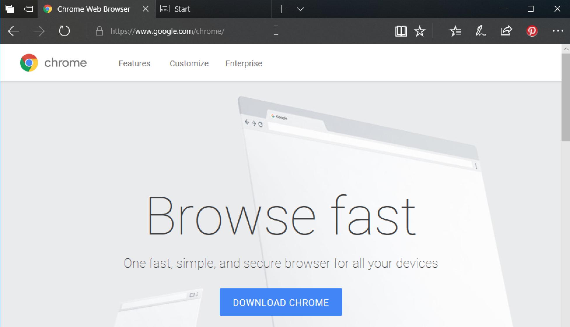 google chrome download windows 10