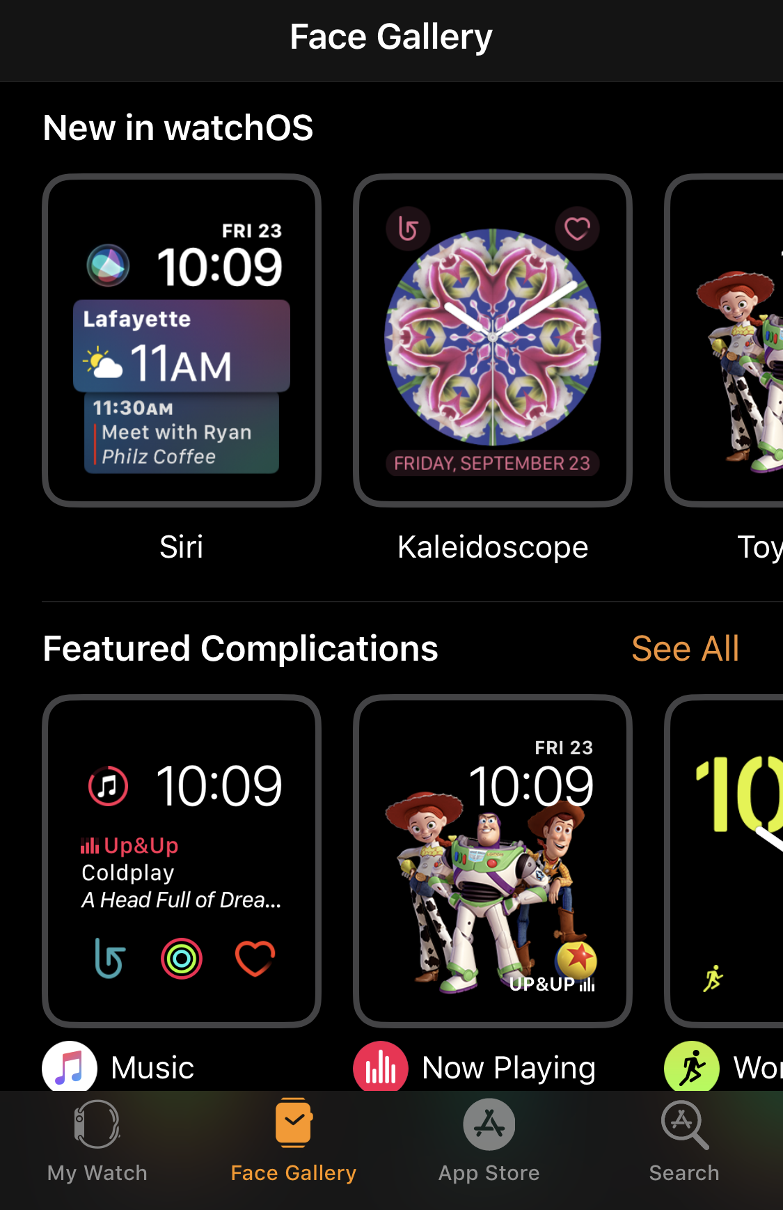 iphone apple watch face gallery