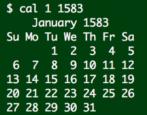 january 1583 gregorian calendar