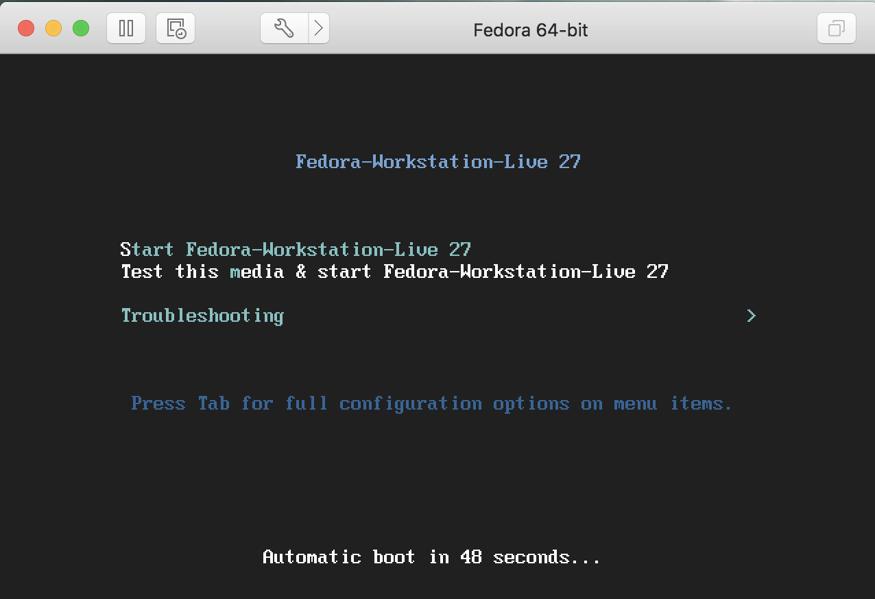 fedora linux install