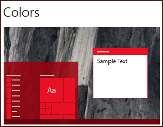 how to change text color on windows 10