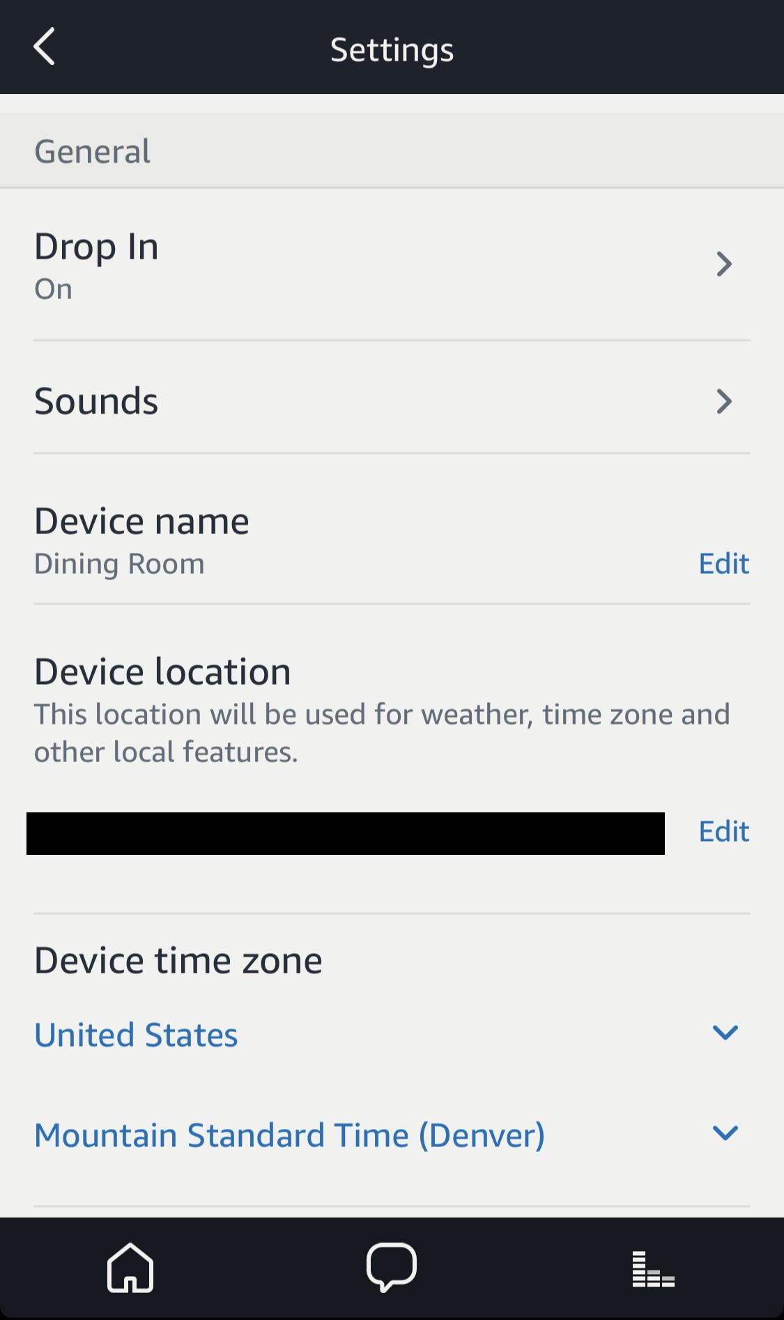 echo setup basics