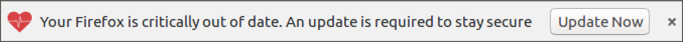 critical update available