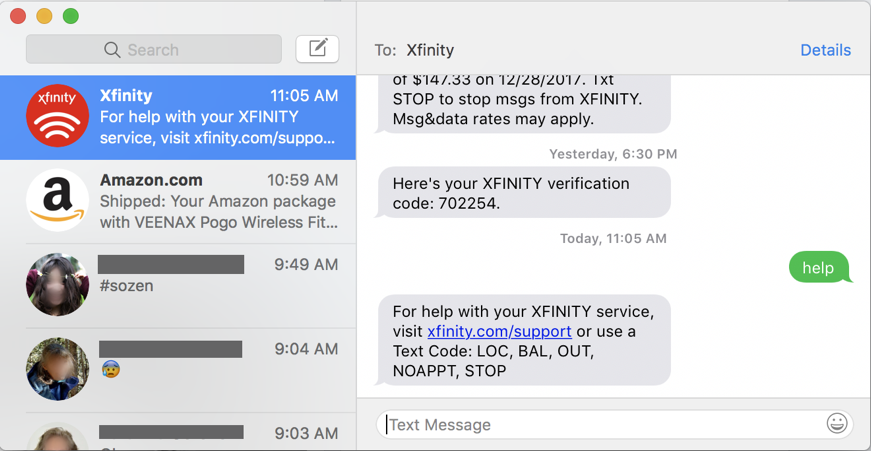 macos x mac messages imessage