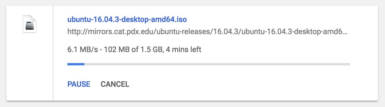 downloading ubuntu linux iso