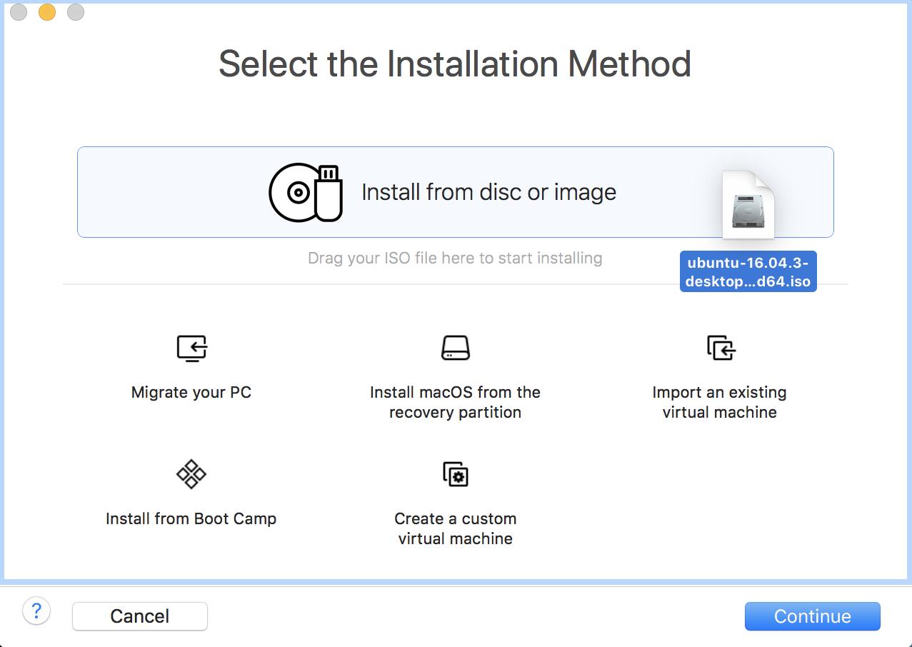 create new virtual machine vm vmware fusion mac