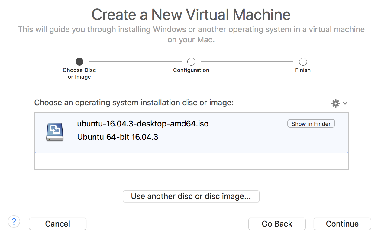 create a new virtual machine ubuntu