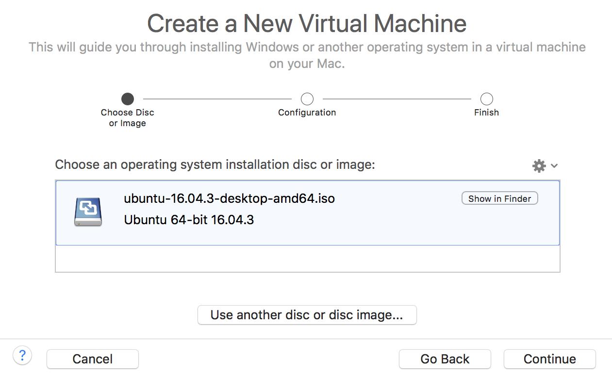create a new virtual machine ubuntu