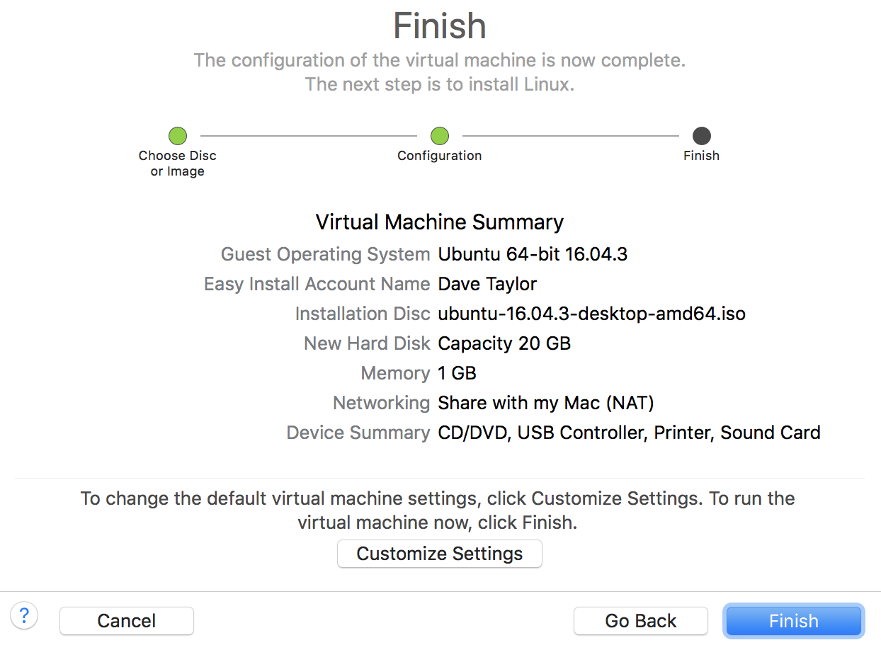 Install Ubuntu Linux in VMware Fusion on the Mac? - Ask Dave Taylor