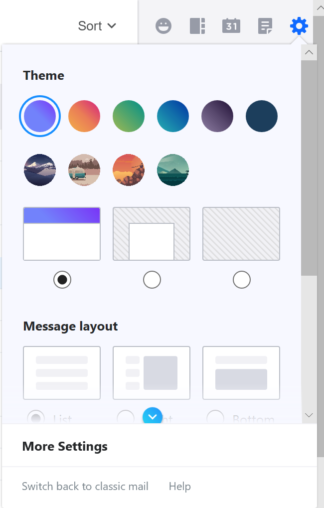 How can i change themes in yahoo mail ask dave taylor yahoo mail ymail settings themes stopboris Images