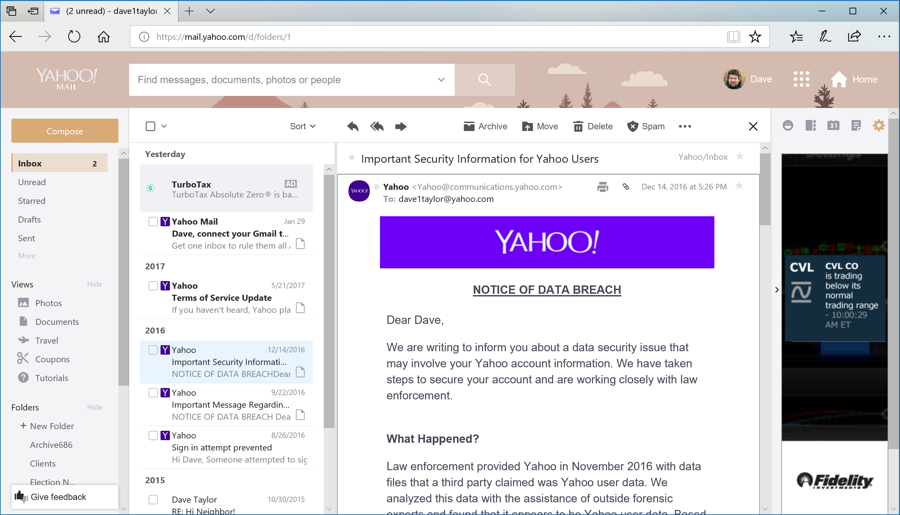 How Can I Change Themes in Yahoo Mail? - Ask Dave Taylor