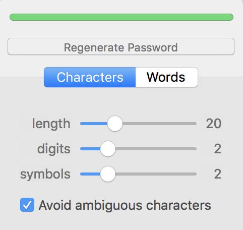 generate password punctuation