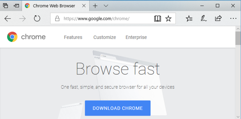 is google chrome a browser