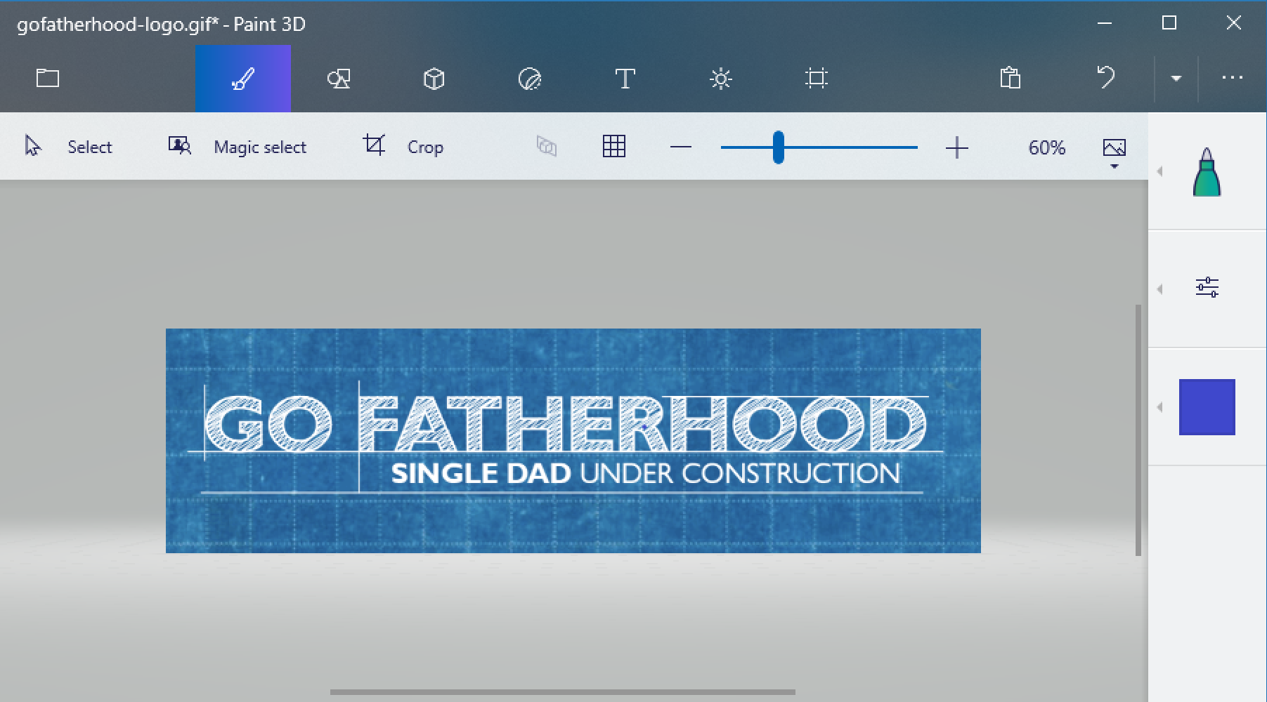 gofatherhood gif paint 3d windows