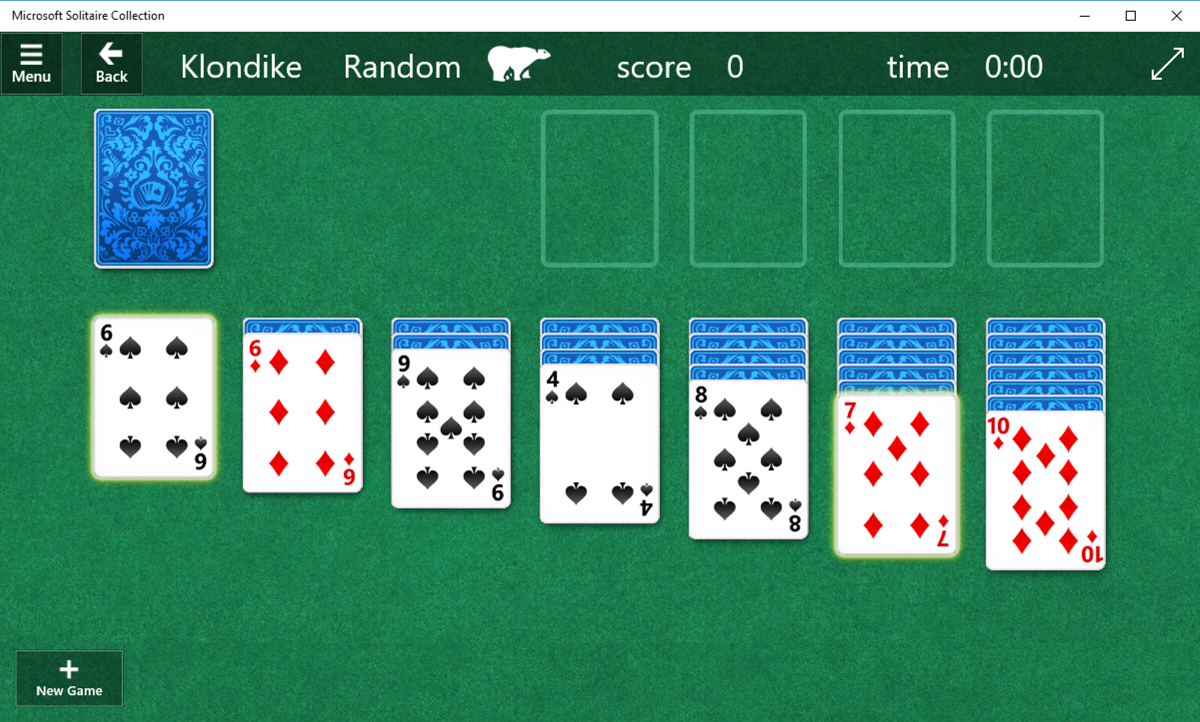 microsoft solitaire collection klondike
