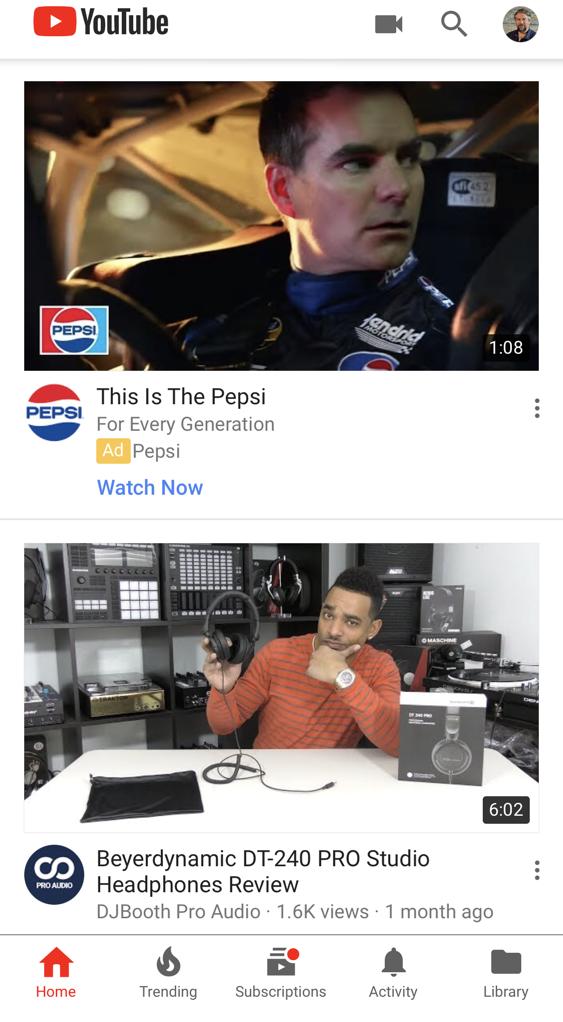 youtube app, iphone