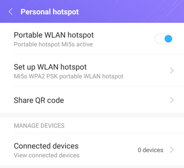 turn on enable portable hotspot wifi android nougat 7.0