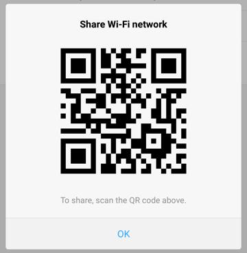 android hotspot qr code