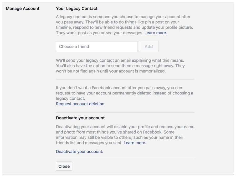 Who Can Access my Facebook Account After I Die? - Ask Dave