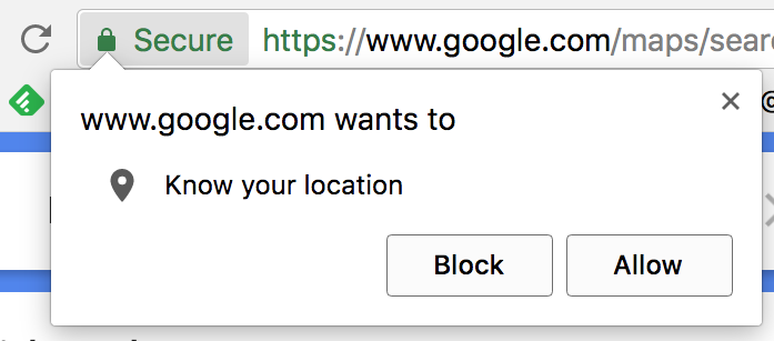 sure you want to delete block location chrome
