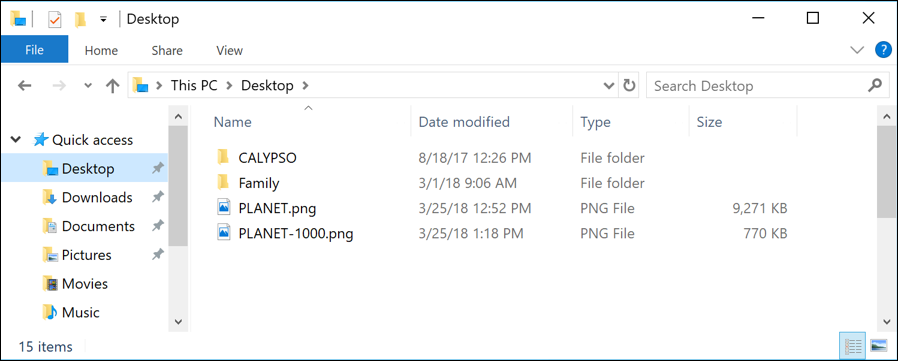 win10 file manager browser big image, small image