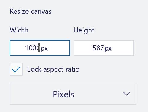 win10 paint 3d resize scale image