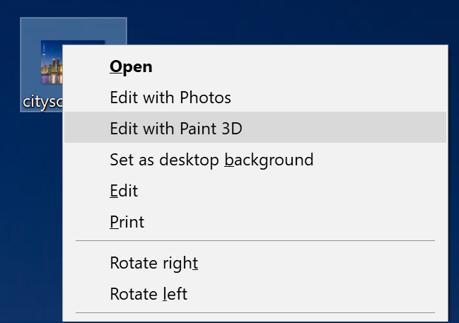 win10 png image edit with paint 3d