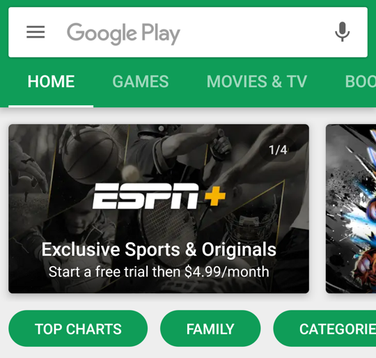 google play store - android