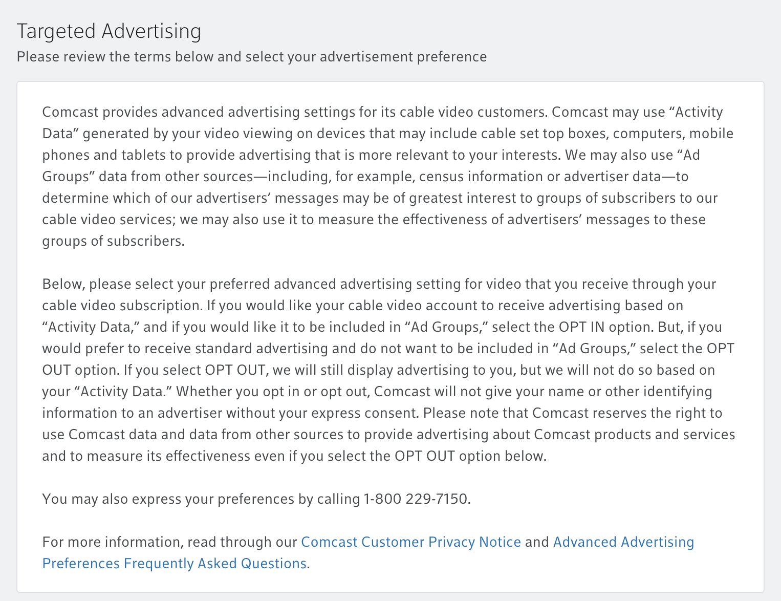 How To Opt Out Of Xfinity Ad Tracking Ask Dave Taylor