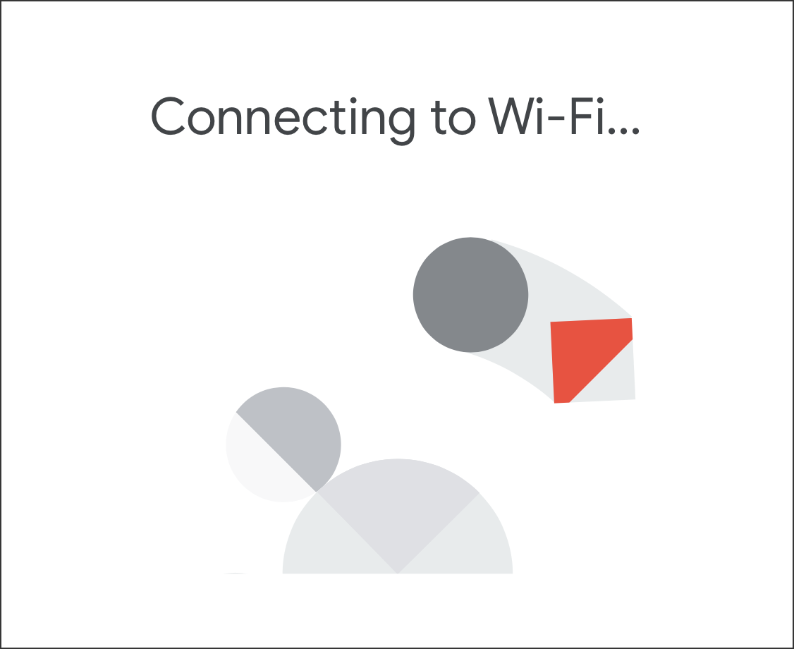 google home - connecting to wifi