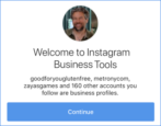convert instagram profile into business account