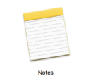 how to share notes note mac macos iphone ios
