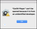 launch run can't be opened unidentified developer mac macos x