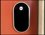 smarthome smart deadbolt: next yale deadbolt installed