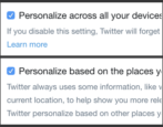 twitter privacy and safety settings gdpr