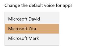 windows 10 speech dictation voice david zira mark