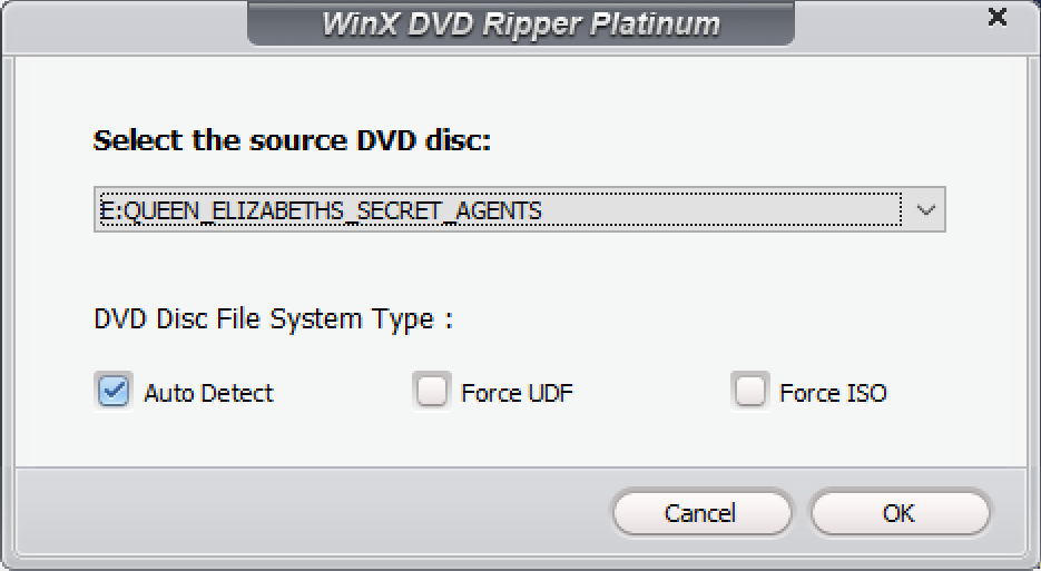 winx dvd ripper suggested DVD title