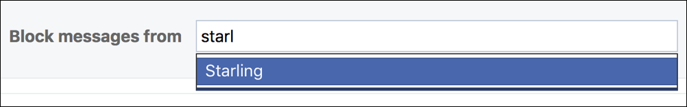 block someone facebook fb messenger messages