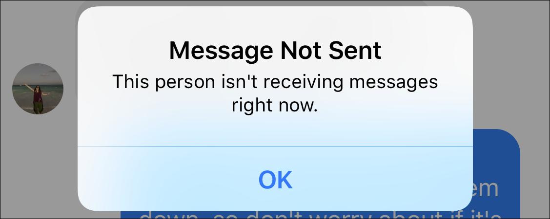 facebook message messages blocked