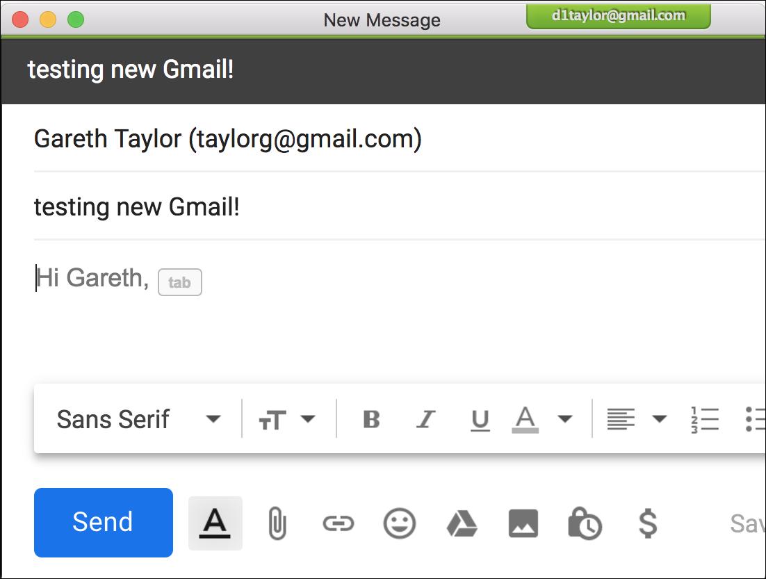 gmail smart compose demo