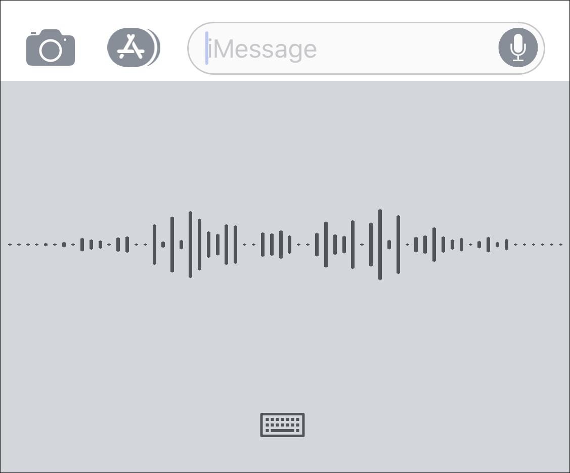 apple ios voice dictation