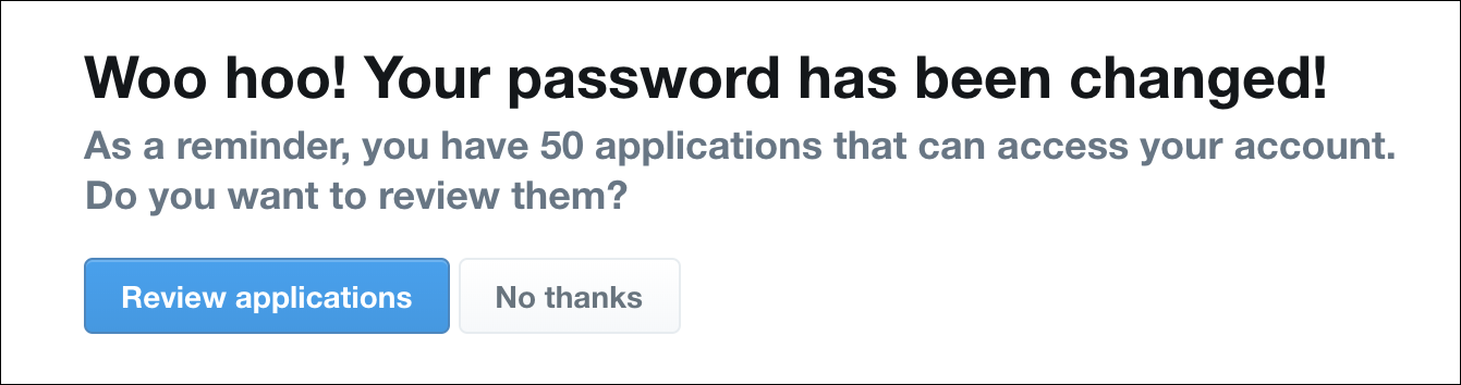 twitter your password has been changed