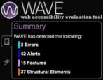 design web site test web accessibility color blind vision